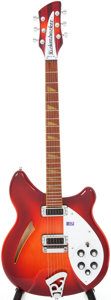 Musical Instruments:Electric Guitars, 2007 Rickenbacker 360 Fireglo Semi-Hollow Electric Guitar, Serial #0729481....