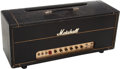 Musical Instruments:Amplifiers, PA, & Effects, 1970 Marshall Super Lead 100W Guitar Amplifier Head, Serial # SL-A 7892 E....
