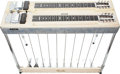 Musical Instruments:Electric Guitars, 1956 Fender Stringmaster Double Blonde Pedal Steel Guitar, Serial #00245....