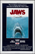 """Movie Posters:Horror, Jaws (Universal, 1975). One Sheet (27"""" X 41"""") Flat Folded. Horror.. ..."""
