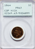 Proof Indian Cents: , 1864 1C Copper-Nickel PR63 PCGS. PCGS Population (53/139). NGCCensus: (19/91). Mintage: 370. Numismedia Wsl. Price for pro...