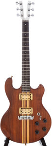 Musical Instruments:Electric Guitars, 1979 Kramer DMZ 2000 Natural Electric Guitar, Serial # 02658....