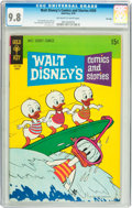 Bronze Age (1970-1979):Cartoon Character, Walt Disney's Comics and Stories #359 File Copy (Gold Key, 1970)CGC NM/MT 9.8 Off-white to white pages....