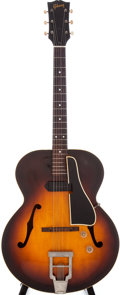 Musical Instruments:Electric Guitars, Late 1940s Gibson ES-150 Sunburst Semi-Hollow Electric Guitar....