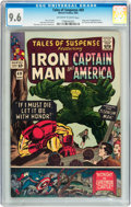 Silver Age (1956-1969):Superhero, Tales of Suspense #69 (Marvel, 1965) CGC NM+ 9.6 Off-white to whitepages....