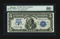 Large Size:Silver Certificates, Fr. 271 $5 1899 Silver Certificate PMG Gem Uncirculated 66 EPQ.. ...