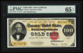 Large Size:Gold Certificates, Fr. 1215 $100 1922 Gold Certificate PMG Gem Uncirculated 65 EPQ.....