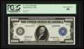 Large Size:Federal Reserve Notes, Fr. 1133-C $1000 1918 Federal Reserve Note PCGS Choice About New 58.. ...