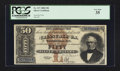 Large Size:Silver Certificates, Fr. 327 $50 1880 Silver Certificate PCGS Very Fine 35.. ...