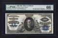 Large Size:Silver Certificates, Fr. 321 $20 1891 Silver Certificate PMG Gem Uncirculated 66 EPQ.....