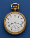 Timepieces:Pocket (post 1900), Howard Series 11 Railroad Chronometer. ...