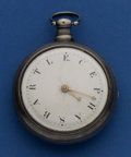 Timepieces:Pocket (pre 1900) , Vale & Co. Coventry Working Verge Fusee. ...