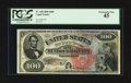 Large Size:Legal Tender Notes, Fr. 168 $100 1869 Legal Tender PCGS Extremely Fine 45.. ...
