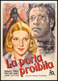 "Movie Posters:Romance, Jane Eyre (20th Century Fox, Late 1940s). First Post-War Release Italian 2 - Foglio (39"" X 55""). Romance.. ..."