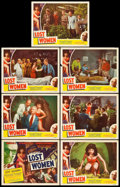 """Movie Posters:Science Fiction, On the Mesa of Lost Women (Howco, 1952). Title Lobby Card &Lobby Cards (6) (11"""" X 14""""). Science Fiction.. ... (Total: 7 Items)"""
