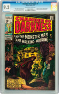 Bronze Age (1970-1979):Horror, Chamber of Darkness #4 (Marvel, 1970) CGC NM- 9.2 Cream tooff-white pages....