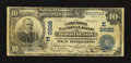 National Bank Notes:District of Columbia, Washington, DC - $10 1902 Date Back Fr. 618 The Columbia NB Ch. # (E)3625. ...