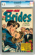 Golden Age (1938-1955):Romance, Teen-Age Brides #2 File Copy (Harvey, 1953) CGC NM- 9.2 Cream tooff-white pages....