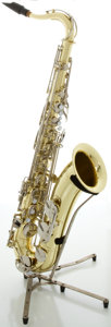Musical Instruments:Horns & Wind Instruments, Yamaha YTS-23 Brass Tenor Saxophone, Serial #045418....