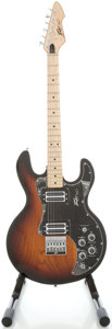 Musical Instruments:Electric Guitars, Early 1980's Peavey T-60 Sunburst Solid Body Electric Guitar,Serial #01103258....