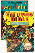 Golden Age (1938-1955):Religious, Living Bible #1 and 2 Group (Living Bible Corp., 1945).... (Total:2 Comic Books)