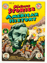 Picture Stories From American History #4 (EC, 1947) Condition: FN/VF