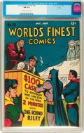 Golden Age (1938-1955):Superhero, World's Finest Comics #28 Toledo pedigree (DC, 1947) CGC NM 9.4 Off-white to white pages....