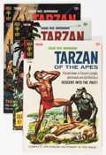 Silver Age (1956-1969):Adventure, Tarzan Group (Gold Key, 1965-71) Condition: Average FN+.... (Total: 23 Comic Books)