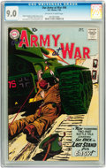 Silver Age (1956-1969):War, Our Army at War #96 (DC, 1960) CGC VF/NM 9.0 Off-white to white pages....