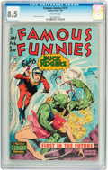 Golden Age (1938-1955):Science Fiction, Famous Funnies #210 (Eastern Color, 1954) CGC VF+ 8.5 Off-whitepages....