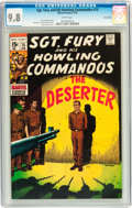 Bronze Age (1970-1979):War, Sgt. Fury and His Howling Commandos #75 Twin Cities pedigree (Marvel, 1970) CGC NM/MT 9.8 White pages....