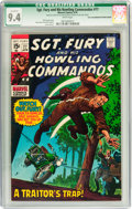 Bronze Age (1970-1979):War, Sgt. Fury and His Howling Commandos #77 Twin Cities pedigree (Marvel, 1970) CGC Qualified NM 9.4 White pages....