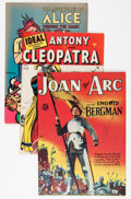 Golden Age (1938-1955):Miscellaneous, Miscellaneous Golden to Silver Age Movie and Book Related Comics Group (Various Publishers, 1946-63).... (Total: 5 Comic Books)
