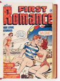Golden Age (1938-1955):Romance, First Romance #1-19 Bound Volume (Harvey, 1949-52)....