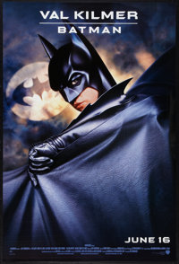 """Batman Forever (Warner Brothers, 1995). One Sheets (6) (27"""" X 40"""" and 27"""" X 40.25.) Advance, Kidman, O'Do..."""
