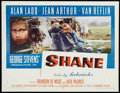 """Movie Posters:Western, Shane (Paramount, 1953). Half Sheet (22"""" X 28"""") Style A. Western....."""