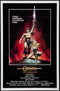 "Movie Posters:Action, Conan the Barbarian (Universal, 1982). One Sheet (27"" X 41"")Advance. Action.. ..."