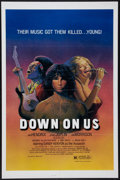 "Movie Posters:Rock and Roll, Down on Us (M & M, 1984). One Sheet (27"" X 41""). Rock andRoll.. ..."