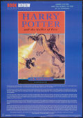 """Movie Posters:Fantasy, Harry Potter and the Goblet of Fire (Anabas (UK), 2000). Book Review Poster (24"""" X 34""""). Fantasy.. ..."""