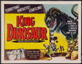 "Movie Posters:Science Fiction, King Dinosaur (Lippert, 1955). Half Sheet (22"" X 28""). Science Fiction.. ..."