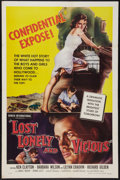 "Movie Posters:Exploitation, Lost, Lonely and Vicious (Howco, 1958). One Sheet (27"" X 41""). Exploitation.. ..."