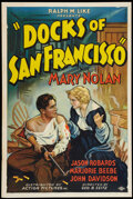 "Movie Posters:Crime, Docks of San Francisco (Action, 1932). One Sheet (27"" X 41"").Crime.. ..."