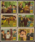 """Movie Posters:Comedy, The Bullfighters (20th Century Fox, 1945). Lobby Cards (6) (11"""" X14""""). Comedy.. ... (Total: 6 Items)"""