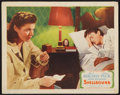 """Movie Posters:Hitchcock, Spellbound (United Artists, 1945). Lobby Card (11"""" X 14""""). Hitchcock.. ..."""
