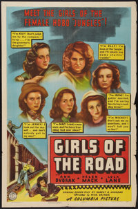 """Girls of the Road (Columbia, 1940). One Sheet (27"""" X 41""""). Bad Girl"""