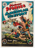 Golden Age (1938-1955):Non-Fiction, Picture Stories From American History #1 (EC, 1945) Condition:FN....