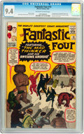 Silver Age (1956-1969):Superhero, Fantastic Four #15 (Marvel, 1963) CGC NM 9.4 Off-white to whitepages....