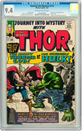 Silver Age (1956-1969):Superhero, Journey Into Mystery #112 (Marvel, 1965) CGC NM 9.4 Off-white towhite pages....