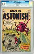 Silver Age (1956-1969):Superhero, Tales to Astonish #39 (Marvel, 1963) CGC NM+ 9.6 White pages....