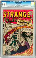 Silver Age (1956-1969):Superhero, Strange Tales #104 (Marvel, 1963) CGC NM+ 9.6 White pages....